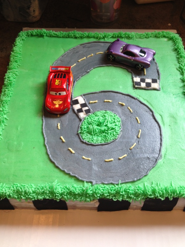 Birthday Cakes For A 6 Year Old Boy That Likes The Cars Movie And Pink Orange Cake An 11 Girl Simply Said I Want